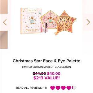 Too Faced Christmas Star Face & Eye Palette NEW